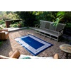 Outdoor & Beach Rug in Blue Athens Design