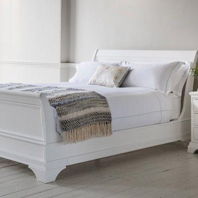 AURELIA HIGH FOOT END BED FRAME by Frank Hudson