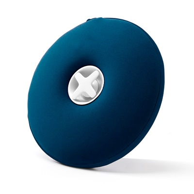 Award Winning Pill Hot Water Bottle with Pull Out Funnel in Blue