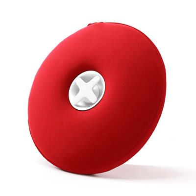 Award Winning Pill Hot Water Bottle with Pull Out Funnel in Red