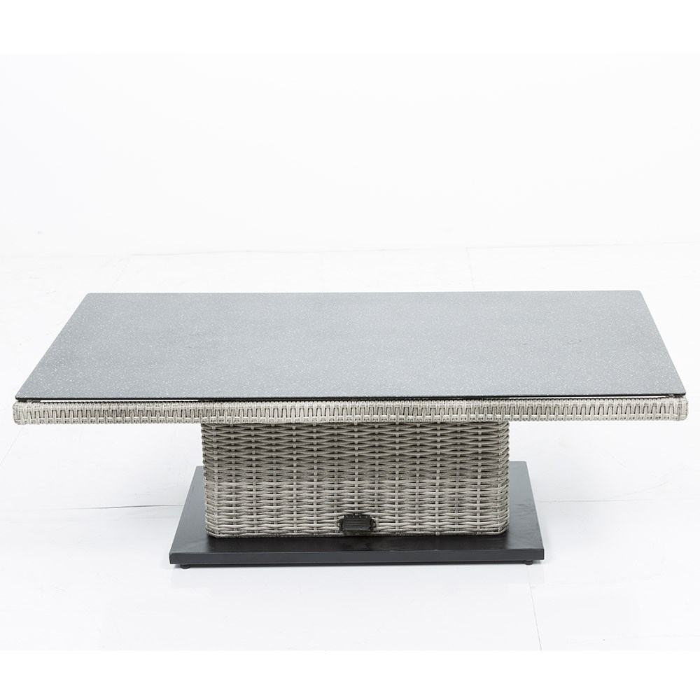 Aya Outdoor Sofa Set With Adjustable Height Table