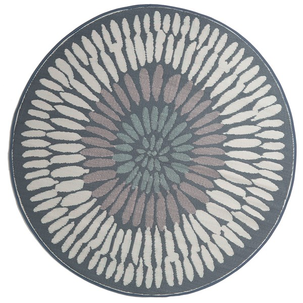 Fab Had Azores Outdoor Rug in Grey