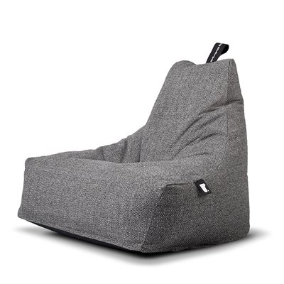 B-SKINS CONTEMPORARY BEAN BAG COVER in Dark Grey