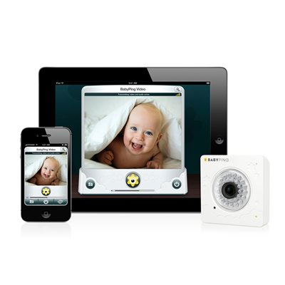 BABYPING Wi-Fi Baby Video Monitor
