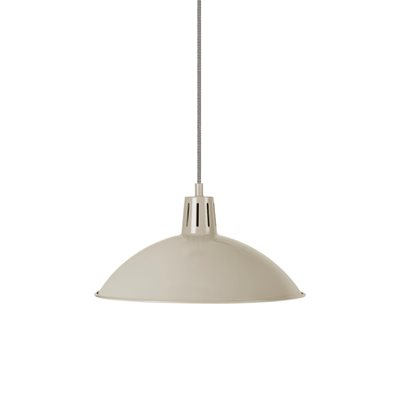 BATTERSEA INDOOR PENDANT LIGHT in Clay by Garden Trading