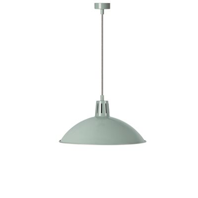 BATTERSEA INDOOR PENDANT LIGHT in Shutter Blue by Garden Trading