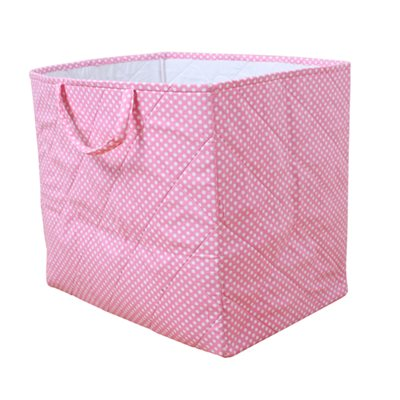 STORAGE BAG in Dotty Pink