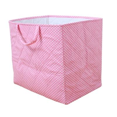 STORAGE BAG in Dotty Pink