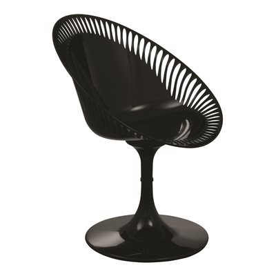 BLACK SENDERO Revolving Chair