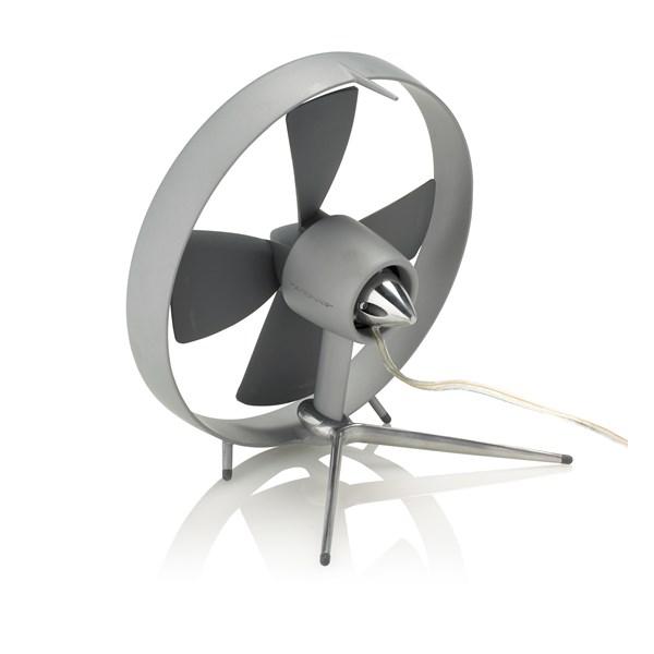 BLACK + BLUM Propello Grey Desktop Fan