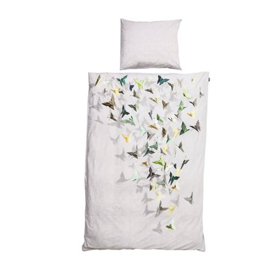 SNURK Origami Butterfly Duvet Bedding Set