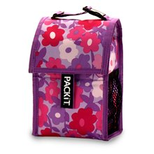 Packit Freezable Wine Chiller Bag In Ziggy Design Packit