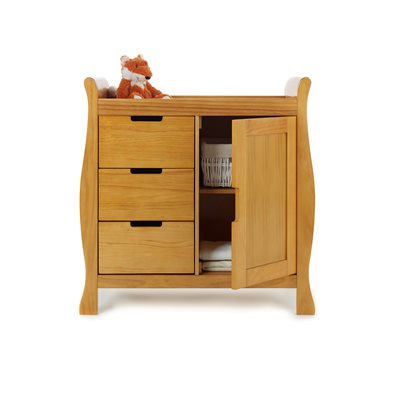 LINCOLN DRESSER & BABY CHANGING UNIT in Country Pine