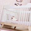Nursery Furniture Baby Cot Bed in White