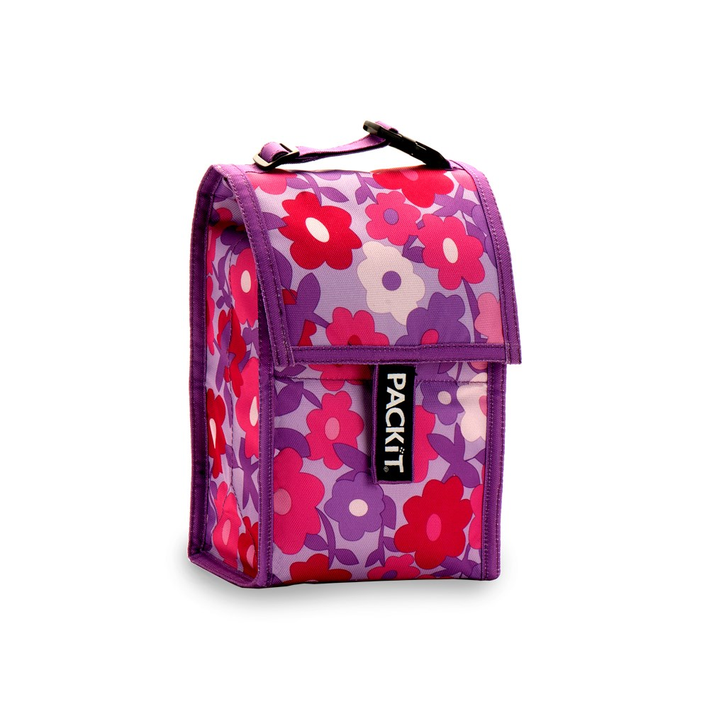 Packit Freezable Baby Bottle Cool Bag In Floral Design