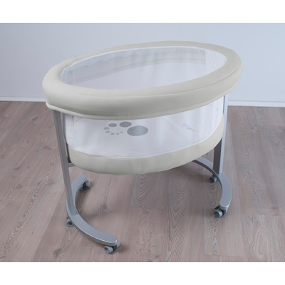 smart cradle with mesh window u0026 aluminium frame moses baskets u0026 crib