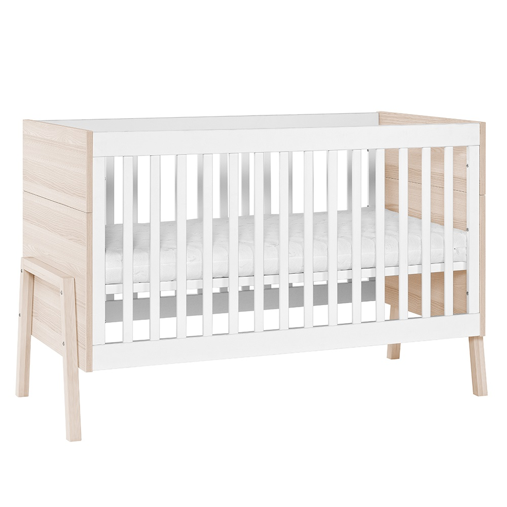 vox spot cot bed in white acacia vox cuckooland. Black Bedroom Furniture Sets. Home Design Ideas