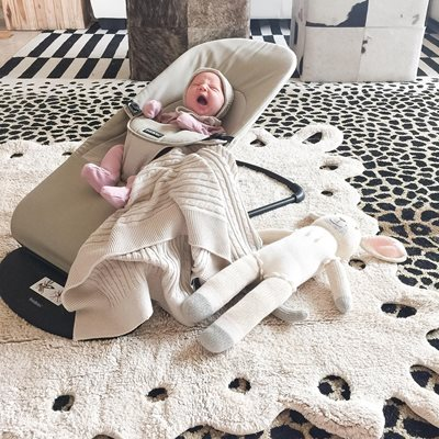 LORENA CANALS WASHABLE BABY RUG in Lace Design