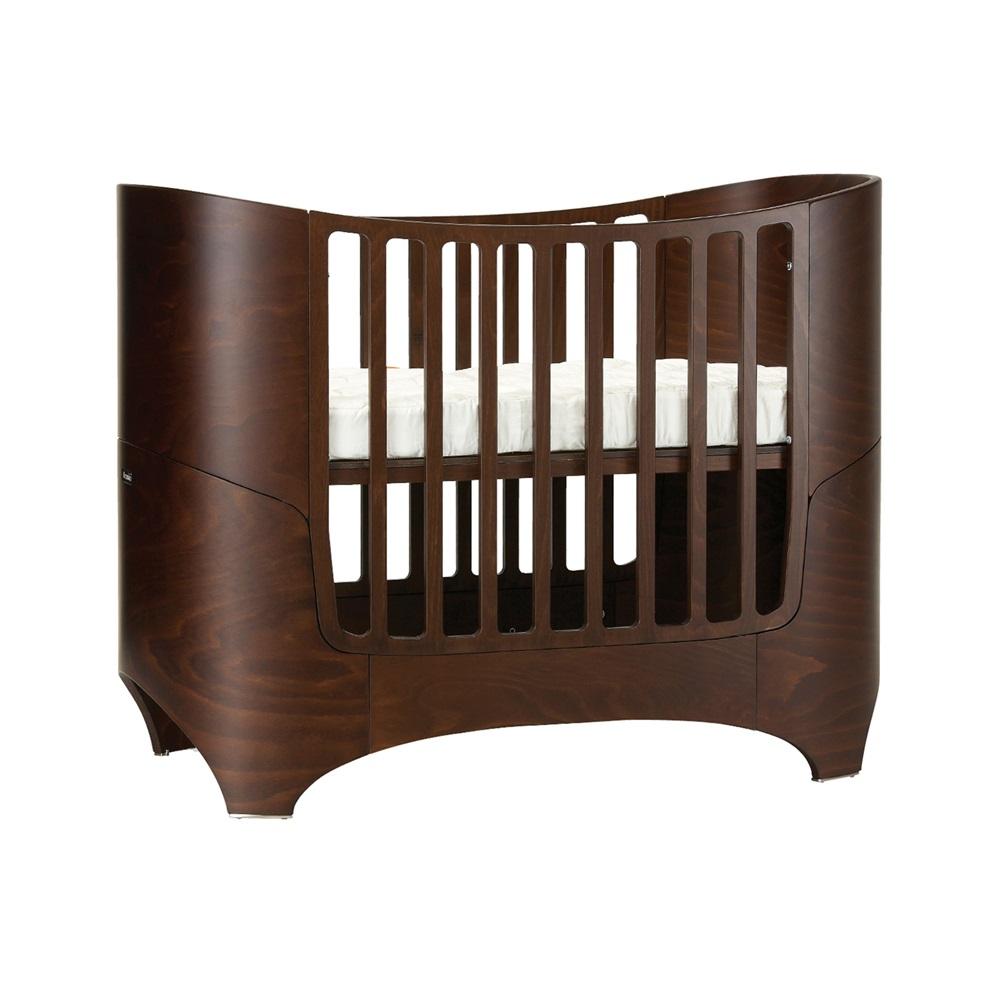 leander baby bed mattress in walnut babies cots furniture cuck. Black Bedroom Furniture Sets. Home Design Ideas