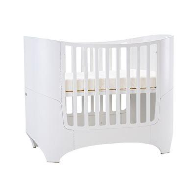 LEANDER Cot & Junior Bed in White