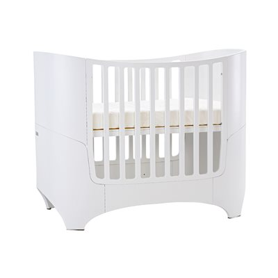 LEANDER Cot & Junior Bed in White