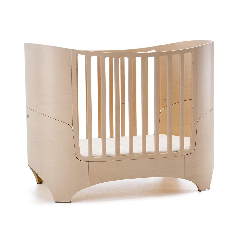 Leander Baby Bed Amp Mattress In Whitewash