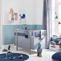 Lifetime Baby Cot - Grey