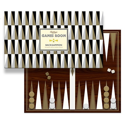 BACKGAMMON METALLIC Board Game