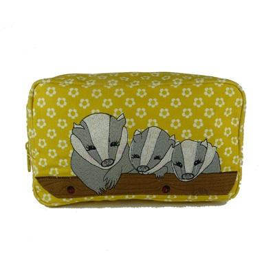 COSMETIC BAG in Badger Design