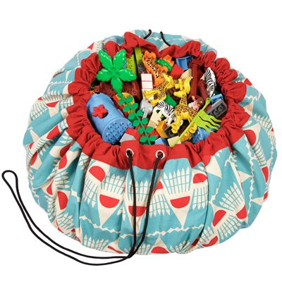 PLAY & GO TOY STORAGE BAG in Badminton Design