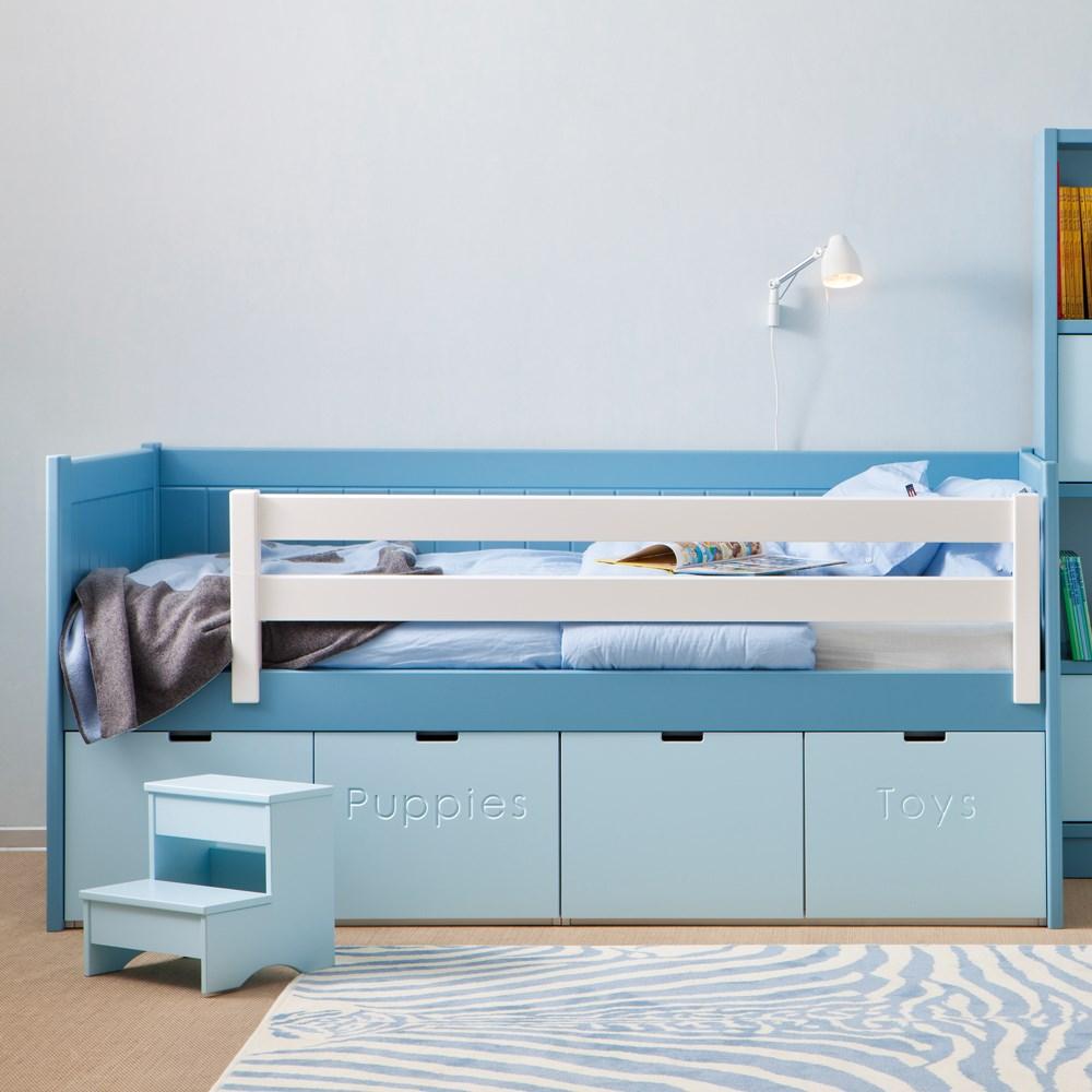Bahia Storage Kids Bed With Step Stool