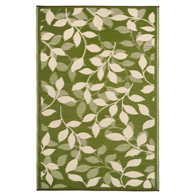 FAB HAB BALI OUTDOOR RUG in Green Leaf