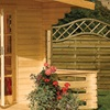 Strong Wooden Outdoor Cabin in Natural Finish