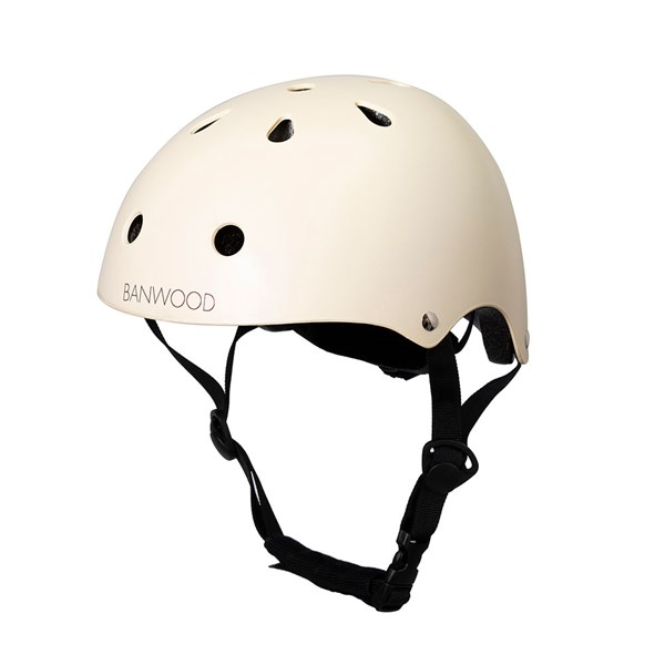 Banwood Kids Cycle Helmet in Cream