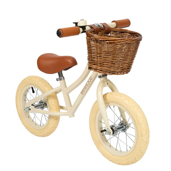 Banwood First Go! Balance Bike in Cream