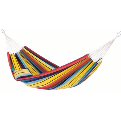 BARBADOS DOUBLE HAMMOCK in Rainbow