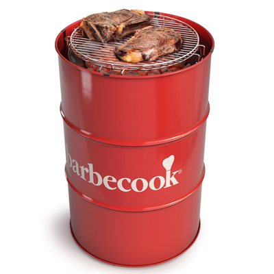 BARBECOOK EDSON BARREL BBQ in Red