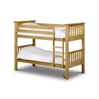 BARCELONA KIDS BUNK BED in Solid Pine by Julian Bowen