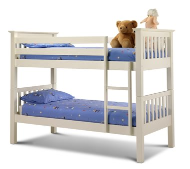 BARCELONA KIDS BUNK BED in Stone White