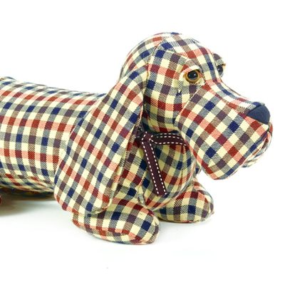 BARKLEY BASSET HOUND Dog Animal Doorstop by Dora Designs