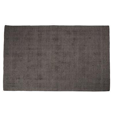 BARLETTA 100% WOOL HAND WOVEN RUG in Steel Grey