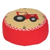 Barn Bean Bag with Red Tractor
