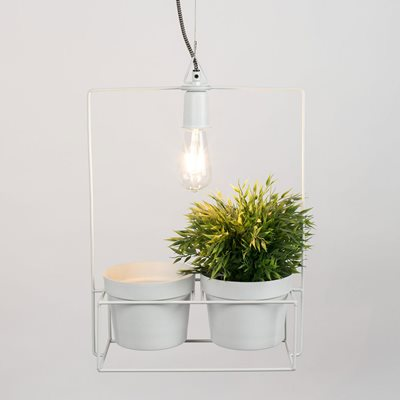 Image of Bart Pendant Light with Planter