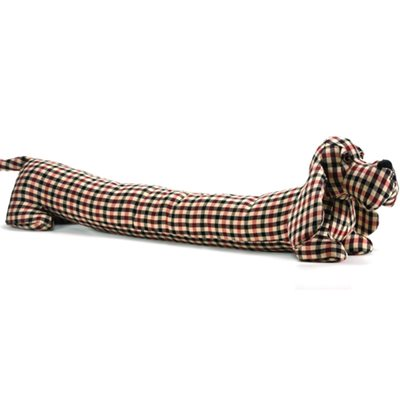 BARKLEY SENIOR BASSET Hound Dog Animal Draught Excluder by Dora Designs