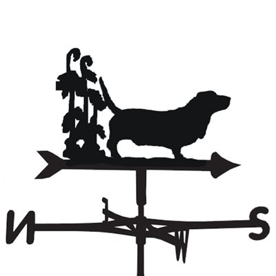 WEATHERVANE in Basset Dog Design