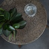 Embossed Metal Table