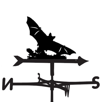 WEATHERVANE in Bat Design