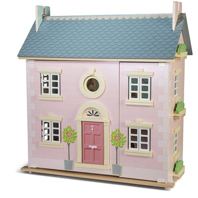 LE TOY VAN BAY TREE DOLL HOUSE with Circular Window