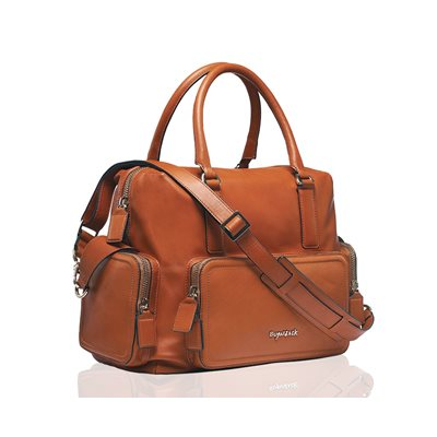 BEA BABY CHANGING BAG in Tan by Sugarjack