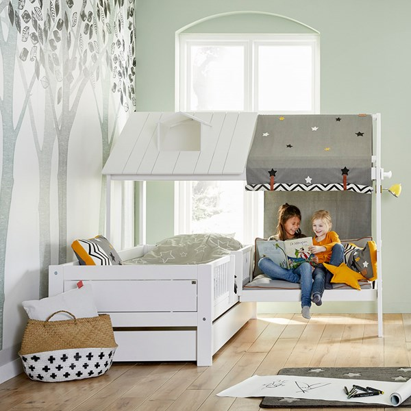 Lifetime Kids Beach House Bed with Bench